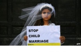 POVERTY IS ONE OF THE MAIN DRIVERS OF CHILD MARRIAGE. Taslima Marriage Media